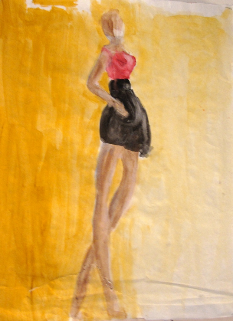 Figure Drawing Woman1