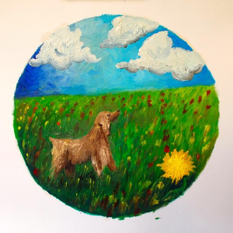 Spot Circle Painting